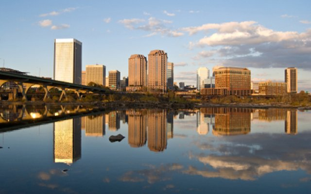 A beautiful view of downtown Richmond, Virginia